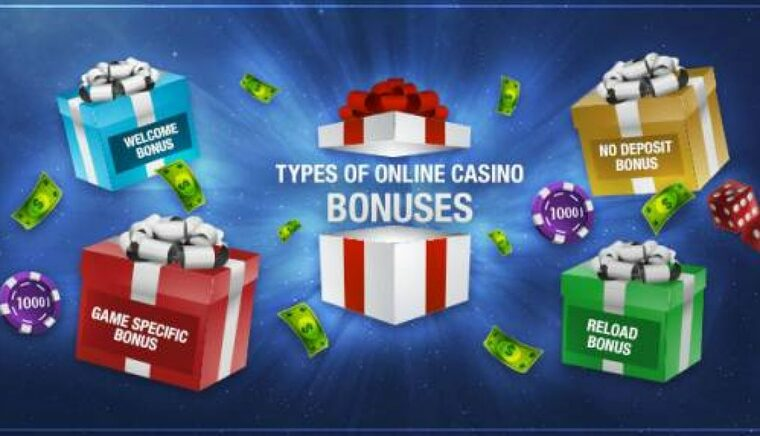 types of online casino bonuses for Australian players