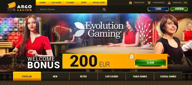 argo casino online