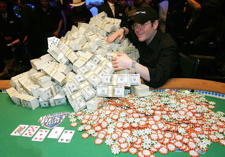 high roller in a casino